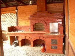 кладка барбекю в СПб в деревне Комарово