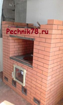 Кирпичная печь для приготовления выпечки, мастер печник из Сестрорецка