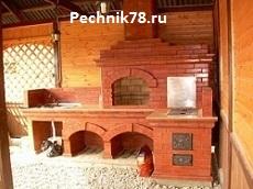 Услуги печника в Сосновом Бору и Шепелево по кладке печи камина, ремонту старых печей.